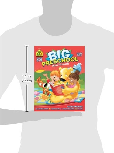 Big Preschool Workbook: School Zone Staff, Multiple Illustrators ...