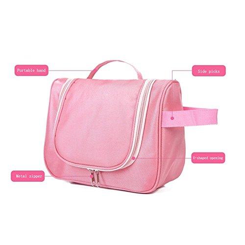 Cosmétique Cosmétique Portable Sac Multifonctionnel DCRYWRX Imperméable l'eau Pink Voyage De À Cosmétique vf4q1dw