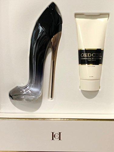 (Good Girl Légère by Carolina Herrera Gift Set Eau de Parfum 2.7 fl oz Spray + 3.4 fl oz Body Lotion)