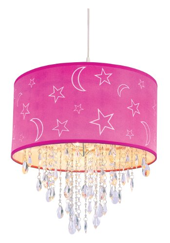 Pink Globe Pendant Light