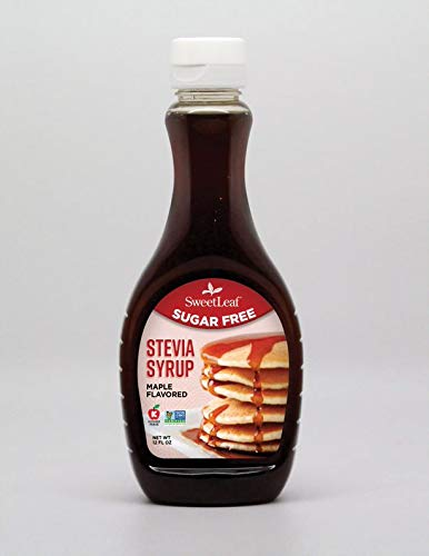 SweetLeaf Stevia Syrup Maple, 12 Fluid Ounce