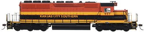 Bachmann Industries Kansas City Southern  651 Diesel Locomotive Train