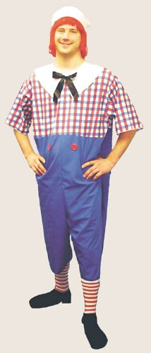 Raggedy Andy Men's Costume (Plus Size) by Halloween FX (Image #1)