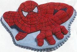 Wilton Spider-man Spiderman Cake Pan (2105-5050, 2002) Retired Marvel Comics -