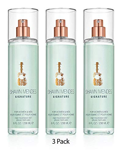 Shawn Mendes fragrance mist 8 oz Pack of 3