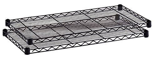 Safco Products Commercial Shelf (Safco Products 5287BL Industrial Wire Shelving Extra Shelf Pack 36