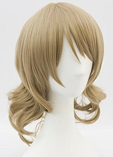 Cosplay wig wig hair NET comes with high-quality heat-resistant costume event Comiket costume school Festival men and women and for live sunshine Watanabe Yoko wind by Butterfly House (Image #1)