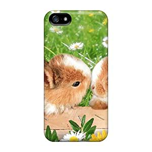 New Arrival Case Cover With Yzyzirq7859vcIYn Design For Iphone 5/5s- Bunny Love
