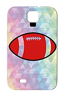 TPU Ball Sports Sport Football Healthy Football Active Team Health America Red American Color Protective Case For Sumsang Galaxy S4