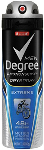 Antiperspirant, Extreme 3.8 oz (Pack of 9) (Degree Anti Perspirant Spray)