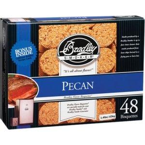 bradley smoker bisquettes pecan - 7