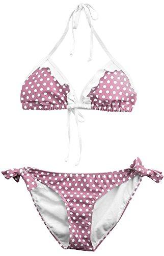 Pussy Deluxe Dotties Romantic Bikini Biquini Rosa Rosa