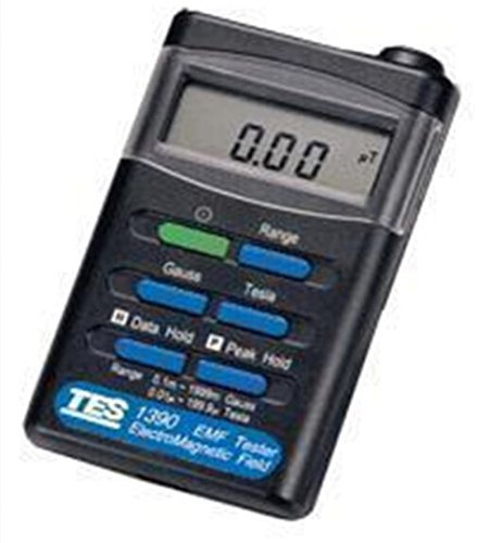 TES Instruments TES-1390 Electromagnetic Field Tester, 30-300 Hz