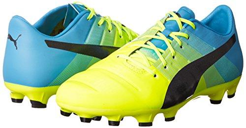 Scarpe Da Calcio Puma Evopower 1.3 Ag 103526 01 Giallo Calcio Uomo Sicurezza Giallo-nero-blu Atomico
