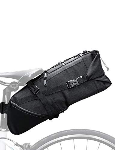 Lixada Bike Saddle Bag 3-10L Large-Capacity Mountain Road MTB Bicycle Bike Cycling Tail Bag Storage Pack Bicycle Under Seat Bag