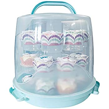 Amazon Com Sweet Creations Locking Cake Carrier With