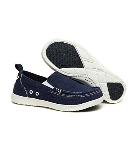 Eu Taille Et Pour Chaussures Jincosua Hommes Confortables coloré Glissière 43 Bleu Antidérapantes À wgSUqP