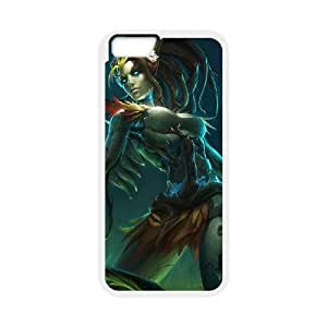 League of Legends(LOL) Haunted Zyra iPhone 6 Plus 5.5 Inch Cell Phone Case White 11A099942