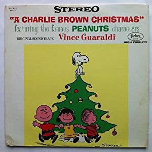 Vince Guaraldi A Charlie Brown Christmas Lp Amazon Com