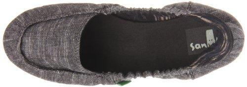 Women's Ons Sanuk Slip Comfort Black Trippy Toes gXdxdqfwB8