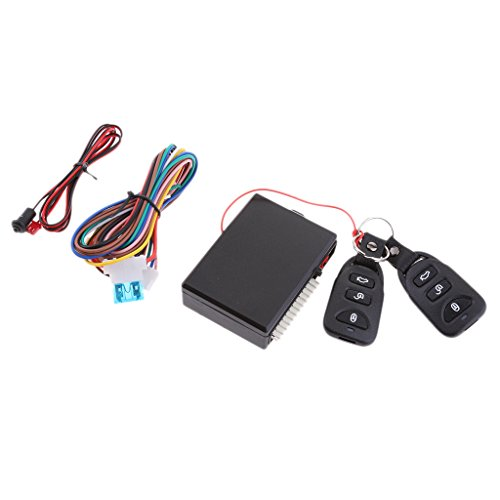 MagiDeal Auto Car Remote Central Kit Door Lock Locking Keyless Entry System with Control (Remote Pneumatic Actuator)