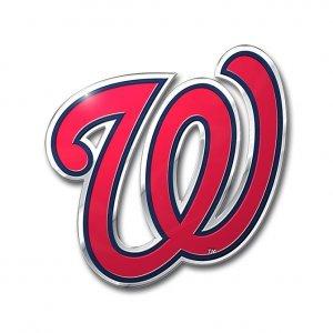 MLB Washington Nationals Die Cut Color Automobile Emblem