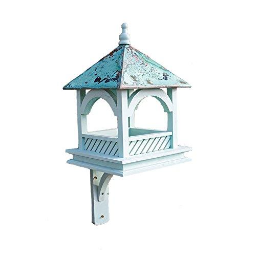 Large Bempton Bird Table - Painted Blue