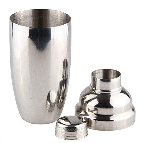 Lautechco Stainless Steel Martini Cocktail Shaker Bar Tools Wine Shakers (18 Oz/550ml) by Lautechco® (Image #1)'