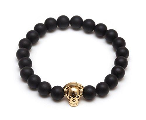 Yellow Gold Beaded Bracelets - 8