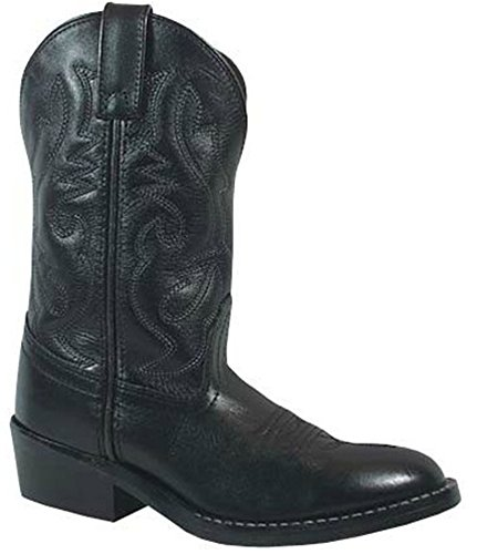 D 7 Width Toddler Sole Kids Boots Denver 5 Black Rubber Mountain Western Smoky xgHwqFZg