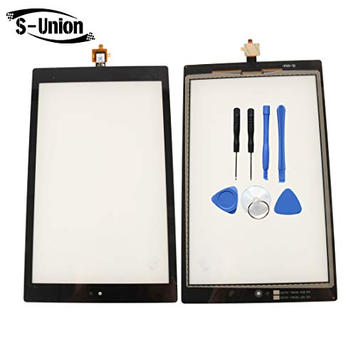 S-Union New Replacement Touch Screen Digitizer for Amazon Kindle Fire HD10 7TH SL056ZE (Comes with - Replacement Touch Screen New