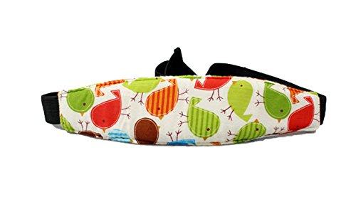 1.5m/59 Baby Car Seat Headrest Sleeping Head Support Pad Cover for Kids Travel Interior Accessories,Bird by Pumpkin-Kaariage