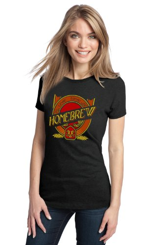 LIVE, LOVE, HOMEBREW Ladies' T-shirt / Funny Craft, Home Brew Beer Lover Tee Shirt