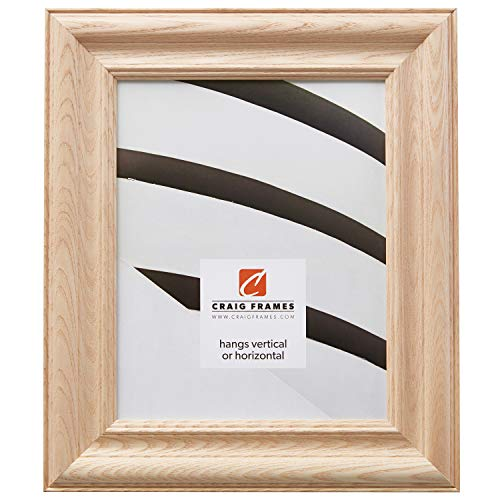 - Craig Frames 80163000 24 by 36-Inch Picture Frame, Solid Wood, 2-Inches Wide, Raw Natural Finish