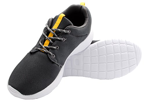 Santimon Kvinna Löparskor Lätta Sport Par Gym Atletisk Mode Sneaker Svart