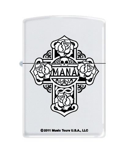 Zippo Mana White Matte Lighter