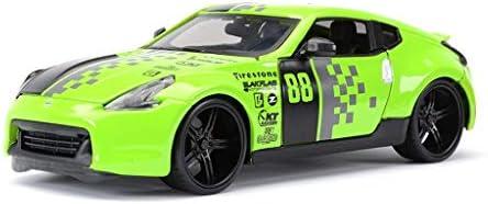 YN モデルカー グリーンモデルカー日産GTRダートソンスポーツカーオリジナルスタティックシミュレーション合金カーモデル1:24ギフトシリーズジュエリー ミニカー