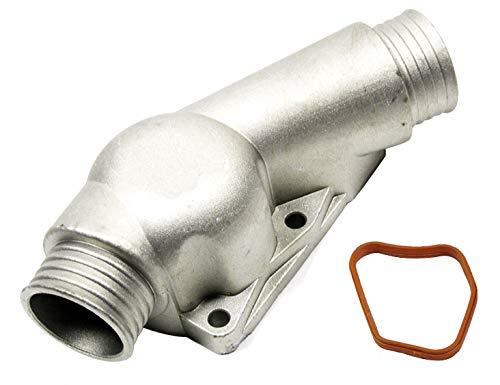 TOPAZ 11531722531 Aluminum Coolant Thermostat Housing Cover for BMW E34 E36 Z3
