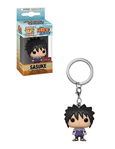 Funko Naruto Shippuden Sasuke Uchiha Pocket Pop Llavero (AAA Anime Exclusive)