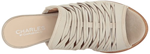 David Charles Charles White by Heeled Women's Chris Sandal EqPSxCw