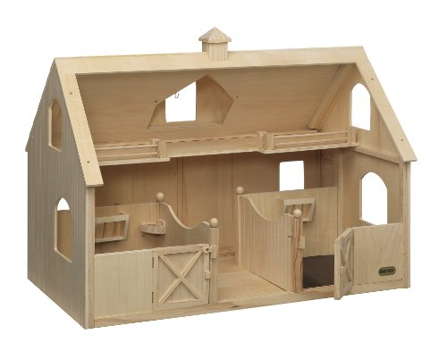 Breyer Traditional Deluxe Wood Horse Barn with Cupola Toy Model - http://coolthings.us
