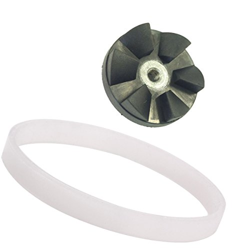 """Auto Parts Delivery >> Sduck Replacement Blade Gear & Rubber Gasket Parts for Nutri Ninja Blender 4"""" Six fins on bottom ..."""