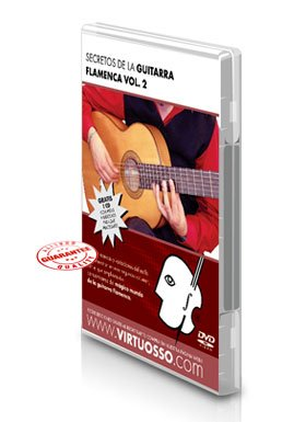 Virtuosso Flamenco Guitar Method Vol.2 (Curso De Guitarra Flamenca Vol.2) SPANISH ONLY by Virtuosso