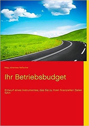 Book Ihr Betriebsbudget