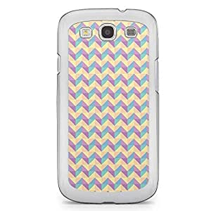 Floral Samsung Galaxy S3 Transparent Edge Case - Geometry A