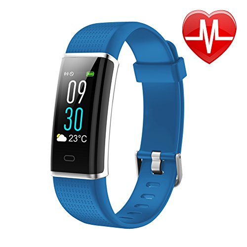 Letsfit Waterproof Fitness Tracker With Heart Rate Monitor  Color Screen Fitness Watch  Smart Band With Sleep Monitor  Step Counter  Pedometer Watch For Kids Women And Men