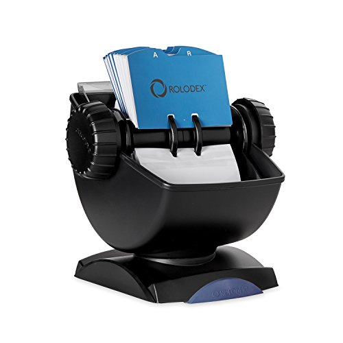 rolodex-67242-rolodex-covered-swivel-card-file-holder-200-sleeves-400-card-capacity