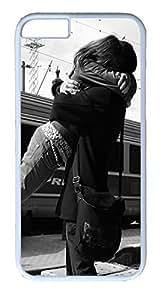 ACESR Big Hug iPhone 4 4s Hard Shell Case Polycarbonate Plastics Cute Case for Apple iPhone 4 4s White