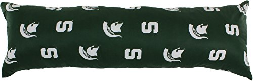 - College Covers Michigan State Spartans Printed Body Pillow - 20