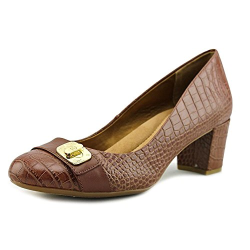 Maple 8 Size Lorenn 5 Giani Toe Bernini Leather Nut Womens Classic Closed Tx68qHxw